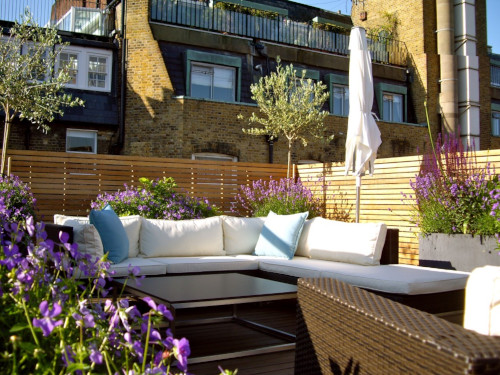 Weather Exposed Garden Design Services London