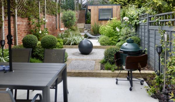 Long & Narrow Garden Design in London