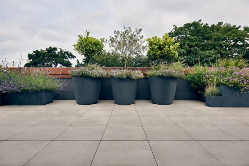 Contemporary Roof Terrace Design Finchley London