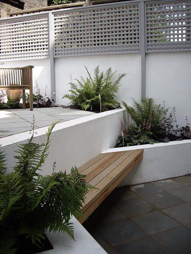 Contemporary Shaded Garden Design Primrose Hill