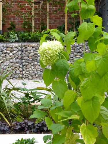 Long Narrow Garden Design Hampstead