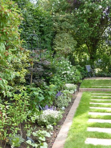Garden Redesign After House Renovation