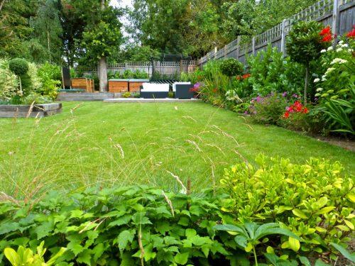 Large Family Garden Design Golders Green